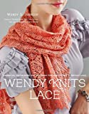 img - for Wendy Knits Lace by Author of Socks from the Top up and Toe-Up Socks for Every Body Wendy D. Johnson (7-Oct-2011) Paperback book / textbook / text book