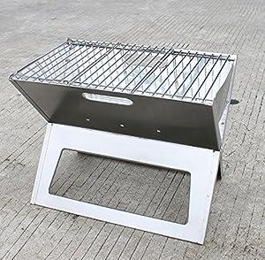 agptek foldable portable barbecue stainless. Black Bedroom Furniture Sets. Home Design Ideas