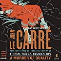 A Murder of Quality: A George Smiley Novel Audiobook by John le Carré Narrated by Michael Jayston