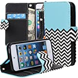IPod Touch 5 Case Cover, Apple IPod Touch 5 Case Cover, E LV Apple IPod Touch 5 Case Cover - PU Leather Flip Folio...