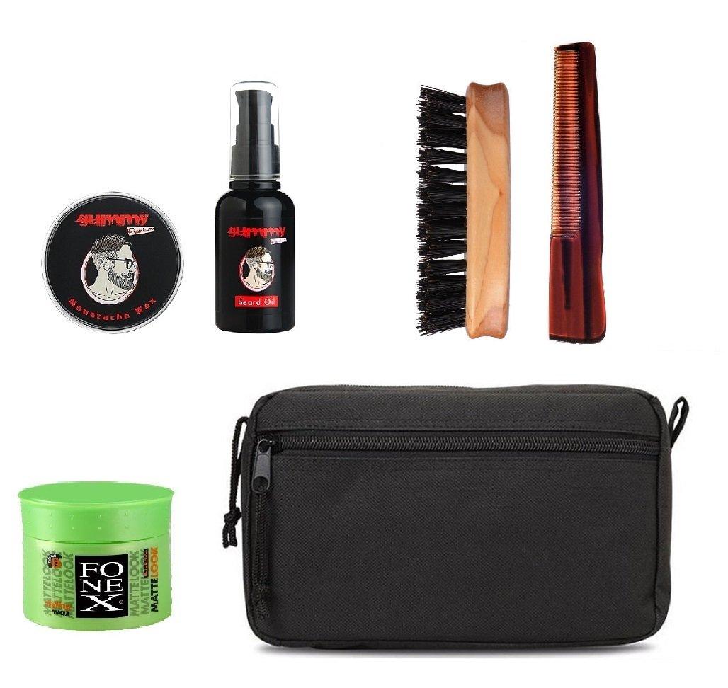 Bartprodukte : Gesamtes Bartpflegeset Bartkamm Bartbürste Bartöl Bartcreme Bartwichse 2016 für den 3 tages bart passend zu bartpflege set und deinen bart ob kurz oder vollbart. + bartöl test und ratgeber kaufberatung