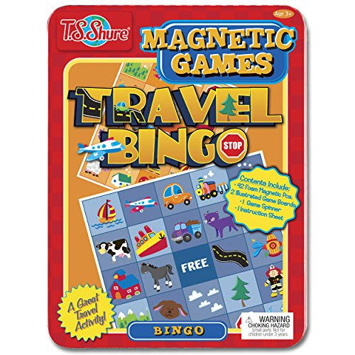 Travel Bingo Magnetic Game Tin