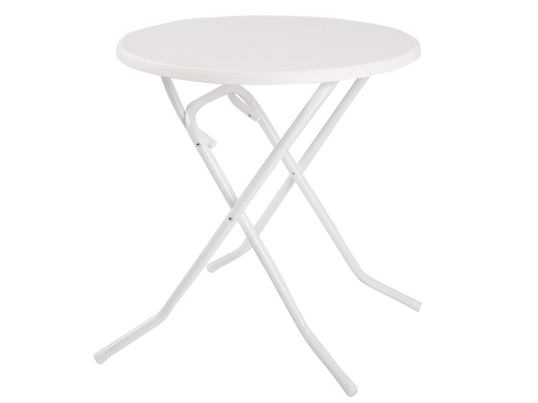 Dajar Ess/Klapp Tisch fi 70 cm, weiß