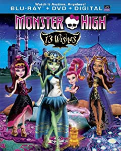 Monster High: 13 Wishes [Blu-ray]