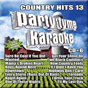 Party Tyme Karaoke: Country Hits 13 by Sybersound Records