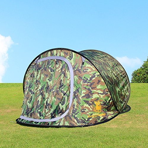 Camouflage 2 3 Person Camping Hiking Travel Beach Shelter