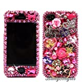 617h3PbJ57L. SL160  3D Swarovski Pink Juicy Couture Crystal Bling Case Cover for iphone 4 / 4s