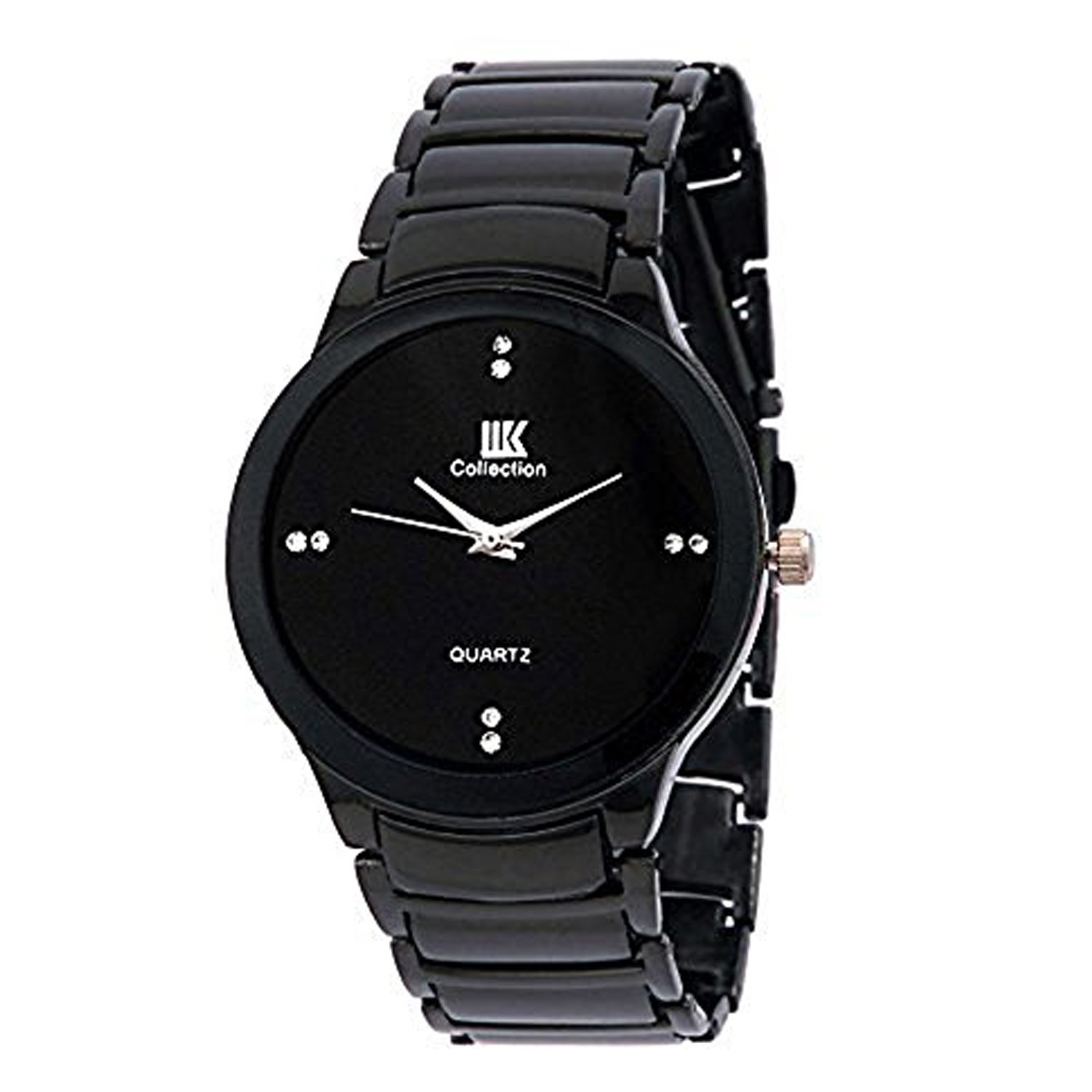 amazon in s deals on watches watches iik collection analogue black dial men s watch iik034m