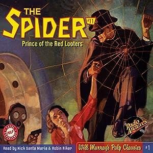 Spider #11 August 1934 Radio/TV Program