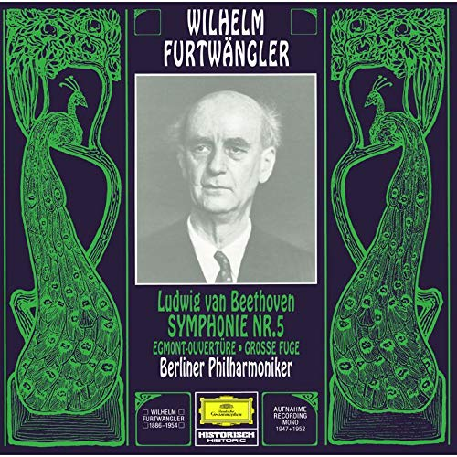 SACD : FURTWANGLER,WILHELM - Beethoven: Symphony 5 Egmont (Limited Edition, Direct Stream Digital, Super-High Material CD, Japan - Import, Single Layer SACD)