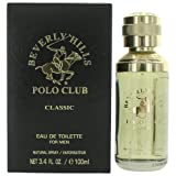 Beverly Hills Polo Club Classic Eau de Toilette Spray for Men, 3.4 Ounce (Color: Eau De Toilette Spray, Tamaño: 3.4 oz)
