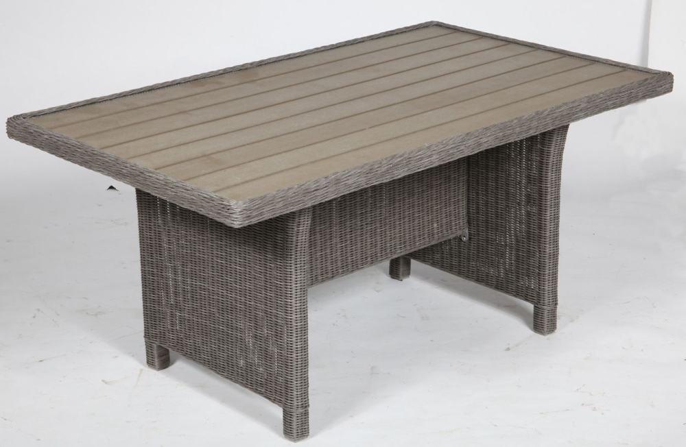 TrendLine Geflecht-Tisch Chicago grau günstig