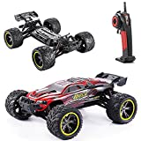 AMOSTING RC Cars Remote Control Truck S912 High Speed Off-Road 33MPH 1/12 Scale Full Proportional 2.4Ghz 2WD Electric Cars - Red