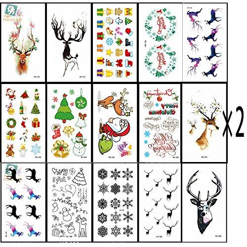 32pcs-tema-de-navidad-impermeable-tatuajes-temporales-etiqueta-como-el-surtido-con-santa-arboles-mun