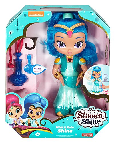 Fisher-Price Shimmer and Shine Wish & Spin Shine JungleDealsBlog.com