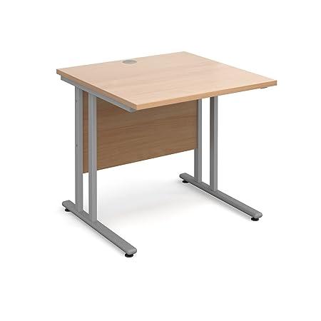 BiMi 800x 800rectangular recta escritorio–madera de haya