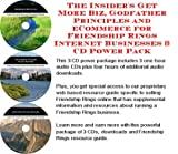 The Insider's Get More Biz, Godfather Principles and eCommerce for Friendship Rings Internet Businesses 3 CD Power Pack