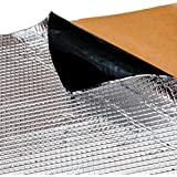 Noico 80 Mil X 18 Sq Ft Self-adhesive Foil & Butyl Mat Audio Deadening and Sound Dampening Automotive Insulation (Sound Deadener for Cars & Trucks)