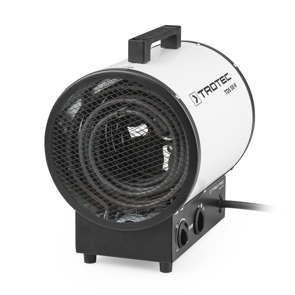TROTEC Elektroheizer TDS 50 R mit 9 kW  BaumarktKritiken und weitere Informationen