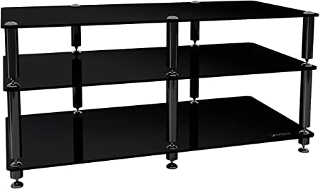 Norstone Bergen AV 2 Stand Mobile Audio/Video, 3 Ripiani, Nero