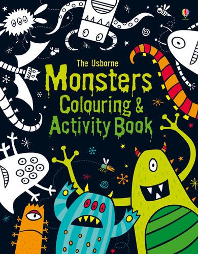 Monsters Colouring and Activity Book (Colouring & Activity Book)