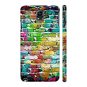 Enthopia Designer Hardshell Case Water Colour Wall Back Cover for Samsung Galaxy Note 4