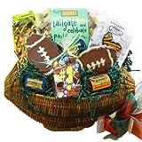 Art of Appreciation Gift Baskets  Football Fanatic Snacks and Treats Gift Basket ~ Art of Appreciation...