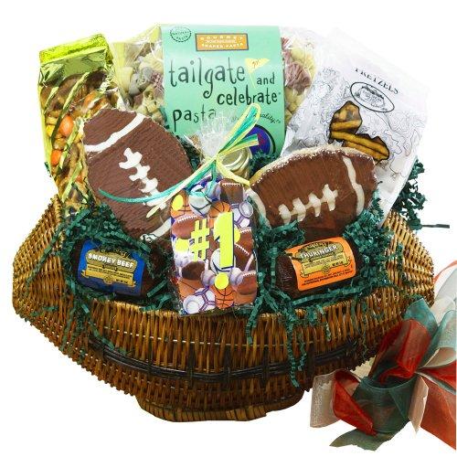 Football Lovers Gift Basket