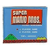 任天堂スーパーマリオブラザーズのクレジットカードケース11センチメートル、ブルー Nintendo Super Mario Bros. Credit Card Case 11 cm, Blue