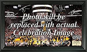 San Antonio Spurs 2014 NBA Finals Champions Celebration Signature Court by Highland Mint