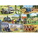 Gibsons Farming Legends Jigsaw Puzzle 1000 Pieces