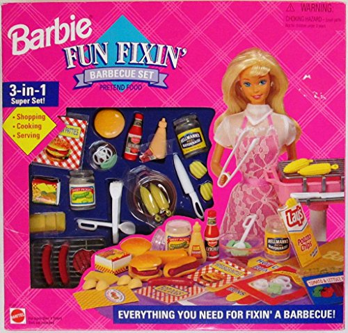Barbie Fun Fixin Barbecue Set