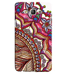 Clarks Printed Designer Back Cover For Samsung Galaxy On7