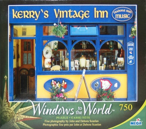Windows To The World 750 Piece Puzzle - Kerry's Vintage Inn - O'Shea's, County Kerry