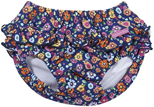 Jojo Maman Bebe Baby Girls' Pretty Swim Nappy (Baby) - Meadow - 6-12 Months front-601119