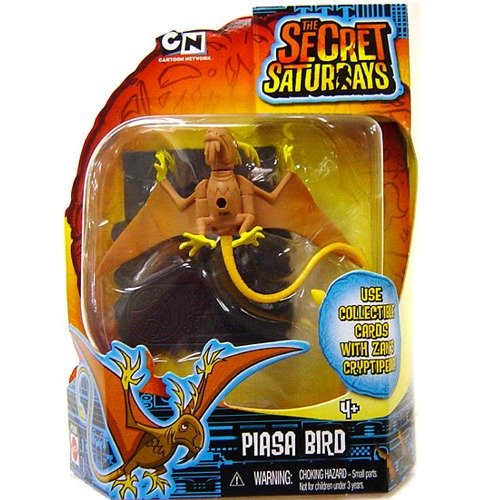 Buy Low Price Mattel Piasa Bird – Secret Saturday Action Figure (B00354955Y)