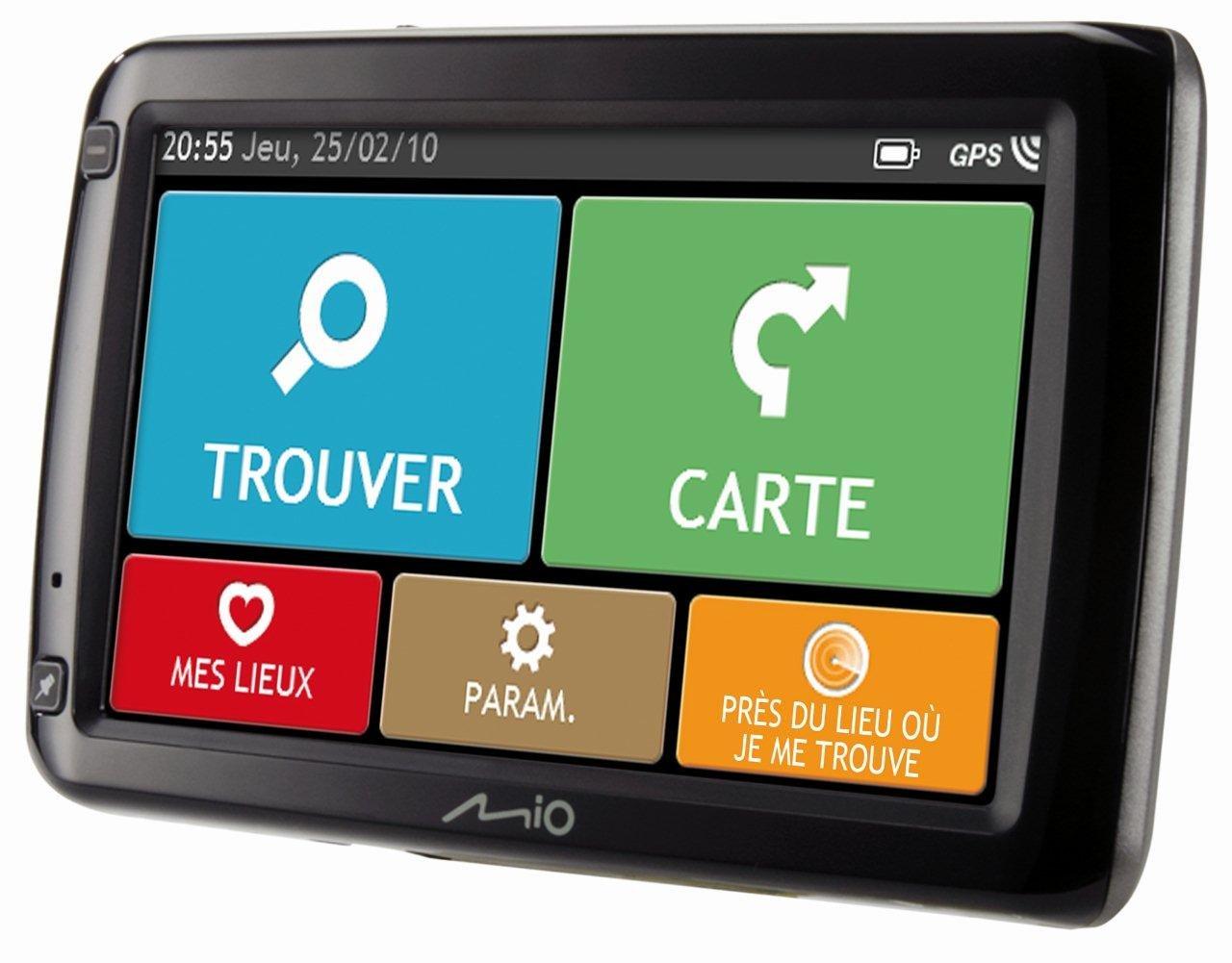 Navigation GPS MIO SPIRIT 685 NOIR EUROPE 44 PAYS