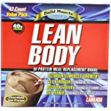 Labrada Nutrition Lean Body, Chocolate Ice Cream, 79-Gram Packets (Pack of 42)