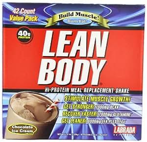 Labrada Lean Body Dutch Chocolate Powder Sachets Pack of 42