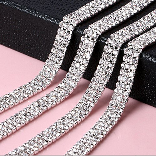 1m-silver-rhinestone-trim-chain-with-clear-diamante-crystals-studs-style-ss8-3-rows-by-trimming-shop
