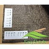 Easyshade Blk40 Sunblock Black 40% Shade Cloth UV Resistant Fabric 10ft X 20ft