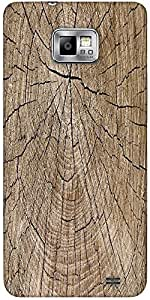 Snoogg Wood Stumps 9 Texture Protective Case Cover For Samsung Galaxy S2