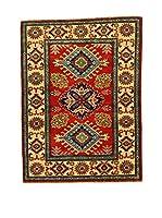 L'EDEN DEL TAPPETO Alfombra Uzebekistan Super Rojo/Multicolor 84 x 113 cm