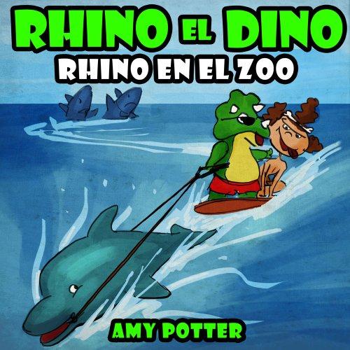 Portada del libro Rhino el Dino de Amy Potter