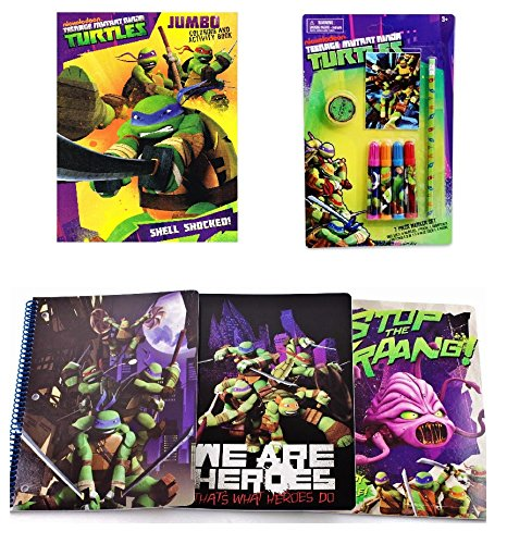 Tmnt Teenage Mutant Ninja Turtles Coloring And Activity Gift Set front-962326