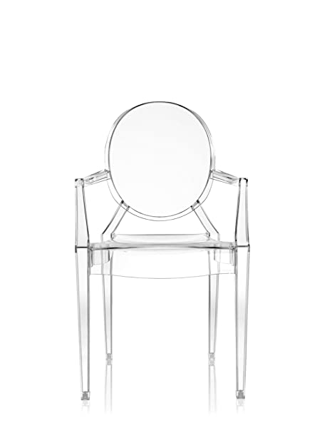 Kartell Louis Ghost Silla, Crystal