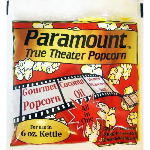 6oz Popcorn Packets - Perfect Portion Packs For 6 oz Popcorn Maker Machine Popper - Case of 24 (6oz Popcorn Packs compare prices)