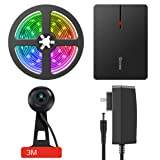LED TV Backlights, Govee WiFi TV Backlights Kit with Camera, TV Led Strip Lights Compatible with Alexa, APP Control Music Led Strip Lights, TV Ambient Bias Lighting for 55