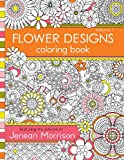 Flower Designs Coloring Book: 1
