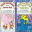 'Henry and Mudge Under the Yellow Moon' and 'Henry and Mudge in the Sparkle Days' Audiobook by Cynthia Rylant Narrated by Sucie Stevenson